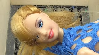 Shredding Barbie Doll Girl and Other Dolls