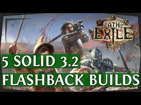 Xxx Mp4 PoE 3 2 5 Solid Flashback League Starter Builds Path Of Exile 2018 3gp Sex