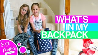🎓😀WHAT'S IN MY BACKPACK 2017!! FIRST DAY OF SCHOOL READY!!