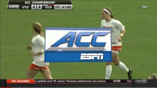 2015 NCAA Soccer: ACC Championship Final – Virginia vs Florida State