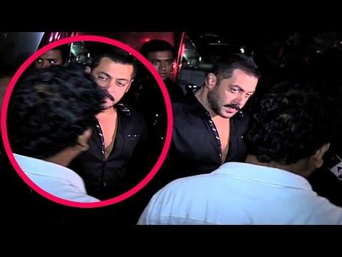 Salman Khan Slap His Bodyguard At Preity Zinta's Birthday Party 2016 !!