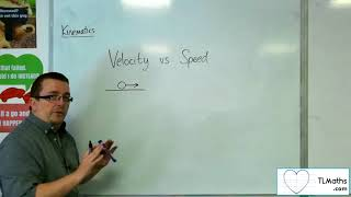 A-Level Maths: Q1-02 [Kinematics: Velocity vs Speed]