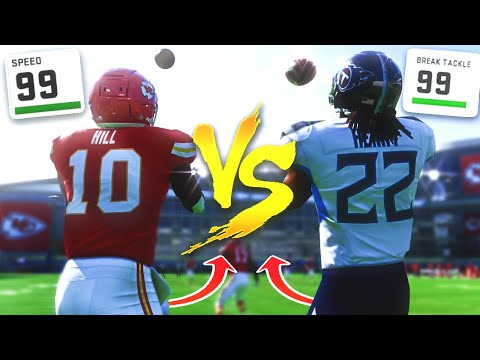 Who Can Return A Kick for a TD Faster 99 Speed or 99 Break Tackle Madden 21
