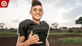 11-Year-Old College Football Scholarship   Titan Lacaden