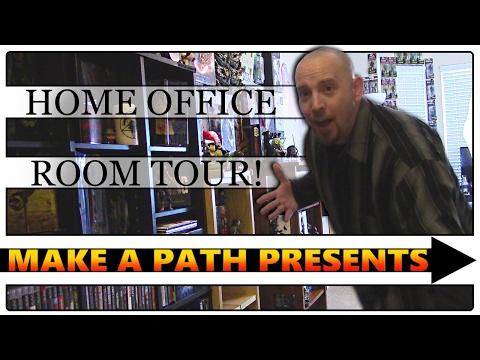 MAPP HOME OFFICE ROOM TOUR 2017   Big Ole Bag A SHlT!