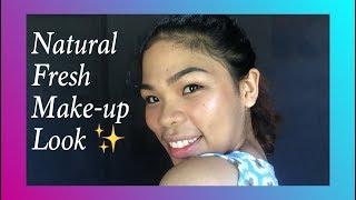 Natural Fresh Make-up Look | cakeke