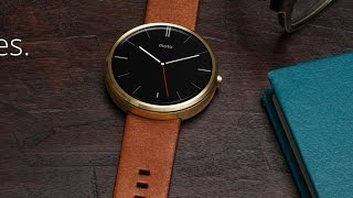 DON't BUY Motorola MOTO 360 Android Watch til Unboxing, Setup, Review
