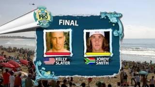 FINAL - Kelly Slater vs Jordy Smith