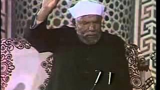 عظمة الصبر على المصائب والرضا بقضاء الله وقدره -الشيخ الشعراوى