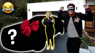 SURPRISING AUSTIN WITH BRAND NEW CAR!!! **EARLY CHRISTMAS GIFT GONE WRONG**