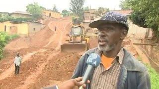 Kigali: Kubaka umuhanda byasenyeye abaturage nyarugenge