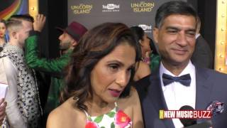 "Malwinder and Sukhwinder Singh AKA Lilly Singh's Mom and Dad ""A Trip To Unicorn Island' Premiere"