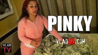 Exclusive: Pinky Shows Us How Much Money She Makes