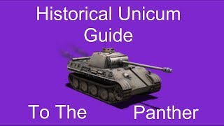 Historical Unicum Guide To The Panther