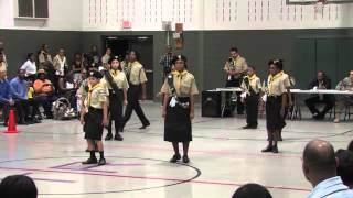 Gethsemane SDA Church PathFinders Competition 2012 - Marching Drill