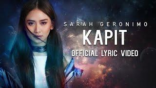 Sarah Geronimo — Kapit [Official Lyric Video]