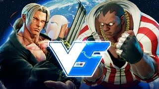 SFV S2 - DR_RAY (Vega) vs DR_SMUGGLES_PhD (Balrog)