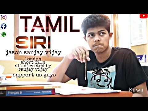 Xxx Mp4 Thalapathy Fan Rahul Made A SIRI Short Film In Tamil Dubbed Thanks To Sanjay 3gp Sex