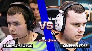 GuardiaN CS 1.6 & CS:S vs GuardiaN CS:GO