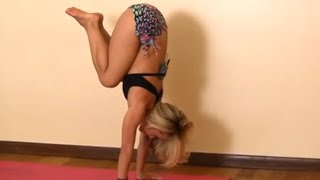 How to do Handstand Tuck with Kino Yoga