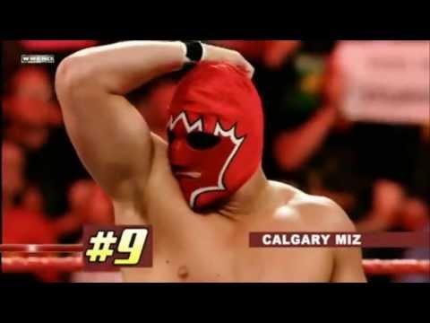 WWE RANK D Most Revealing Unmaskings