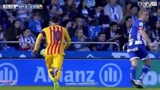 شاهد واستمتع بجميع اهداف ليو ميسي في الدوري الاسباني2016 شاشة كاملة تعليق عربي HD
