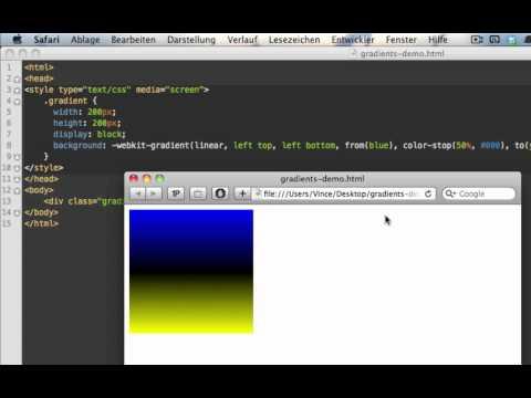 CSS: Verläufe mit CSS3