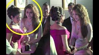 Urvashi Rautela Fan Girl Moment With Sridevi At Lux Golden Rose Awards 2018