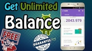 How to Get Unlimited Balance On Slide App with Proof