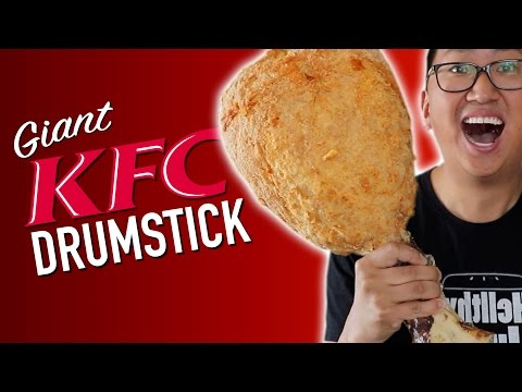 DIY GIANT KFC DRUMSTICK DO NOT ATTEMPT