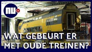 Op de NS-werkplaats: Van spooktrein tot splinternieuwe intercity   Achter gesloten deuren   NU.nl