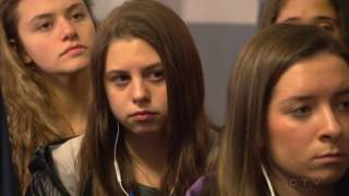 W5: New generation visits Nazi death camp