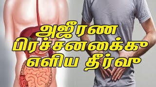 Home Remedies For Digestion Problem || அஜீரண பிரச்சனைக்கு எளிய தீர்வு - Health Tips In Tamil