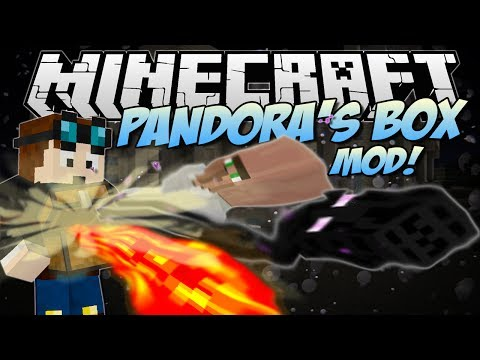 Minecraft PANDORA S BOX MOD Hundreds of Random Happenings Mod Showcase 1.7