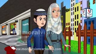 Low Volume or switching off with Abdul Bari English Version Islamic Cartoons for children