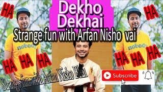 Ajob Moja Hobe Afran Nisho Sathe HD | New Video 2018 | Dekho Dekhai | Afran Nisho | Saju Chowdhury