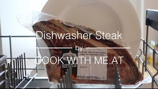 Dishwasher Steak - Perfect Redneck Sous Vide Steak - COOK WITH ME.AT