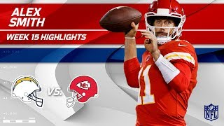 Alex Smith Leads KC to Victory w/ 2 TDs vs. LA! | Chargers vs. Chiefs | Wk 15 Player Highlights