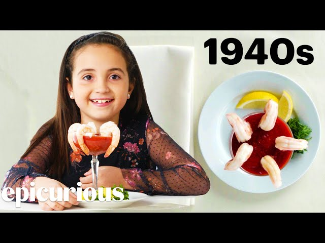 Kids Try 100 Years of the Most Expensive Foods | Bon Appétit