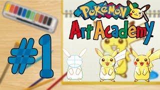 Pokémon Art Academy - Dessinons Avec BibiTm ! (Partie 1)