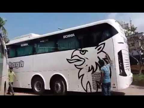 Shohag Scania new bus in bangladesh শ্বেত-শুভ্র সোহাগ স্ক্যানিয়া