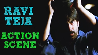 Ravi Teja Best Action Scene - Ek Aur Vinashak - Telugu movie Neninthe - Fight Scene 2/7