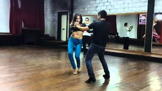 Clase de Bachata Urbana Sensual - Ricky Escalier y Mariana Bogado