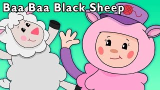 Funny Animated Videos for Kids | Baa, Baa, Black Sheep and More | Baby Songs from Mother Goose Club!
