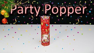 How To Make Big Party Popper - DIY New Year Ideas 2018