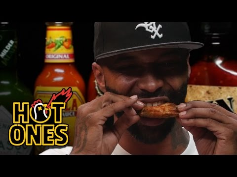 Xxx Mp4 Joe Budden Keeps It Real While Eating Spicy Wings Hot Ones 3gp Sex
