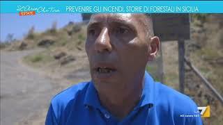 Prevenire gli incendi, storie di forestali in Sicilia