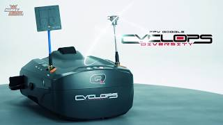 Quanum Cyclops Diversity DVR FPV Goggles - HobbyKing Product Video