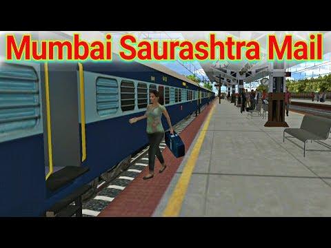 Mumbai Saurashtra Mail | indian train simulator