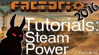 Factorio 2016 Power How to►Steam Engine Electricity Tutorial◀ Gameplay [60fps, 1080p]